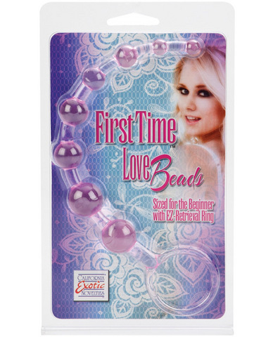 First time love beads - pink Sex Toy Product