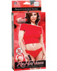 Remote control vibrating thong red o/s
