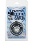 Universal silicone pump sleeve - smoke