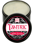 Tantric soy candle w/pheromones - white lavender Sex Toy Product