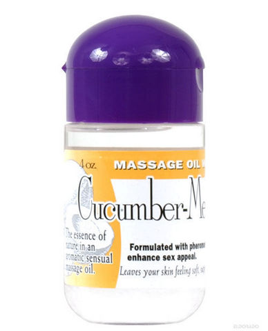 Massage oil with pheromones 4 oz - cucumber melon