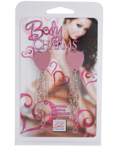 Body charms heart - pink