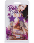 Body charms star - purple