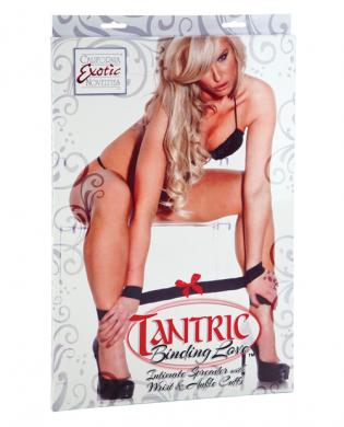 Tantric Binding Love. Intimate Spreader with Wrist & Ankle Cuffs