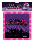 Night to remember standard 6.5in napkins (10 pack) by sassi girl Sex Toy Product
