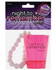 Night to remember shot glass bracelet by sassi girl