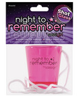 Night to remember shot glass necklace by sassi girl Sex Toy Product