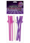 Night to remember risque straws (10 pack) by sassi girl