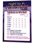 Night to remember stud rating cards by sassigirl Sex Toy Product
