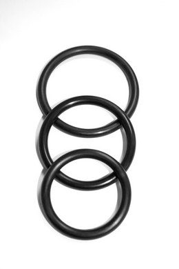 Sex & Mischief nitrile cock ring pack of 3