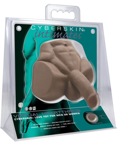 Cyberskin intimates virtual heartthrob - dark