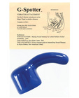 G-spotter vibrator attachment