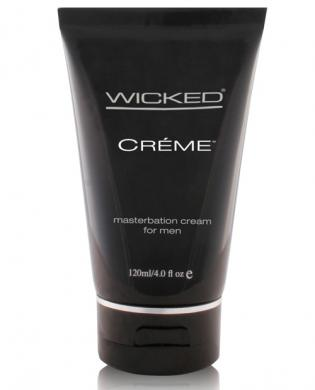 Wicked sensual care collection 4 oz creme to liquid masturbation cream for men - creme