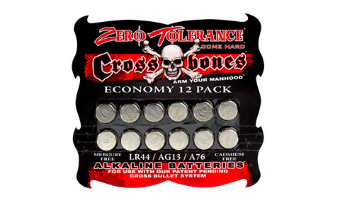 ALKALINE BATTERIES - ECONOMY 12 PACK (Smoke)