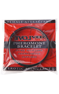 PHEROMONE BRACELETS - FEMALE ATTRACTANT (BLACK)