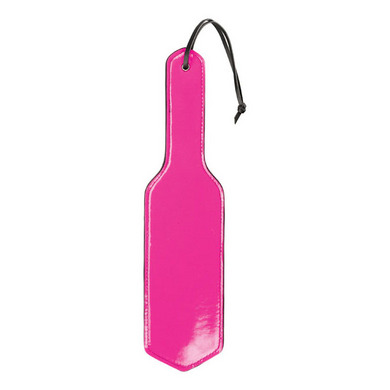 Shots Toys - Ouch! PVC Paddle Top Black Bottom Pink
