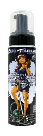 FOAMING MASTURBATOR CLEANSER  AND SANITIZER - 8 OZ.