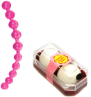 Ben Wa Ball Non-Vibrating Japanese Marital Aid and Jumbo Thai Anal Beads Adult Sexy Times Collection