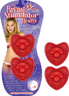 Breast Stimulator Hearts Red