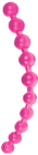 Tantrica Jumbo Thai Pink Jelly Anal Beads