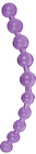 Tantrica Jumbo Thai Purple Jelly Anal Beads
