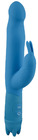 Pure Blue Silicone Rabbit Vibrator
