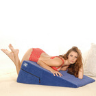 "Liberator 24"" Ramp in  Blue Microfiber Sex Toy Product"