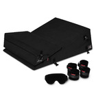 "Liberator Black Label 24"" Wedge/Ramp Combo (Short) with Cuff Kit in Black Microfiber"