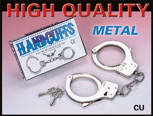 Metal Handcuffs Easy Release
