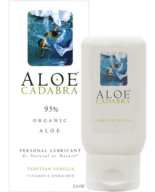 Aloe Cadabra Organic Lube Vanilla 2.5 oz