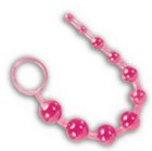 Sassy 10 Anal Beads Pink