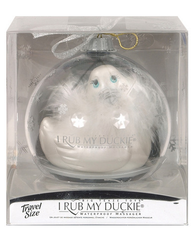 I Rub My Duckie &quot;Paris&quot; Travel Size Holiday Ball - Pearl Blanc