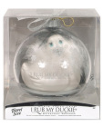 "I Rub My Duckie ""Paris"" Travel Size Holiday Ball - Pearl Blanc"