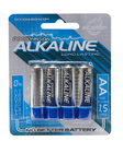 Doc Johnson Alkaline Batteries - 4 Pack AA Sex Toy Product