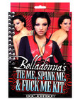 Belladonna&#039;s Tie Me Spank Me Fuck Me Kit