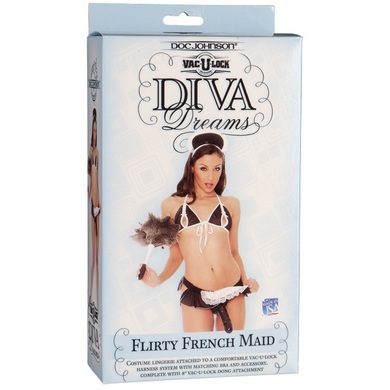 VAC-U-LOCK DIVA DREAMS � Flirty French Maid
