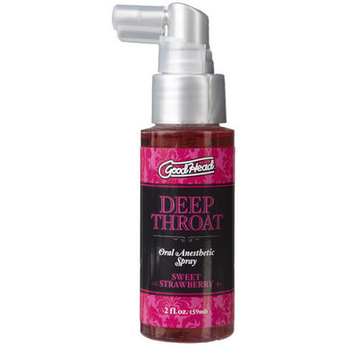 GoodHead Deep Throat Spray - Sweet Strawberry