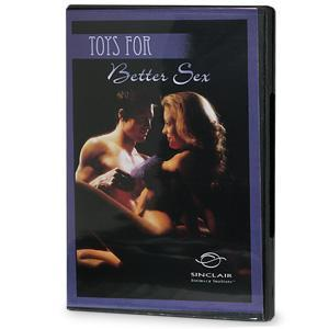 Toys For Better Sex -Dvd