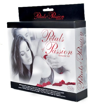 Petals Of Passion Romantic Kit