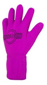 Five Finger Massage Glove - Left Hand Fuschia