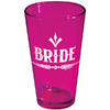 Rock Bride Pint Glass Pink