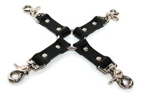 Hog Tie Leather Black