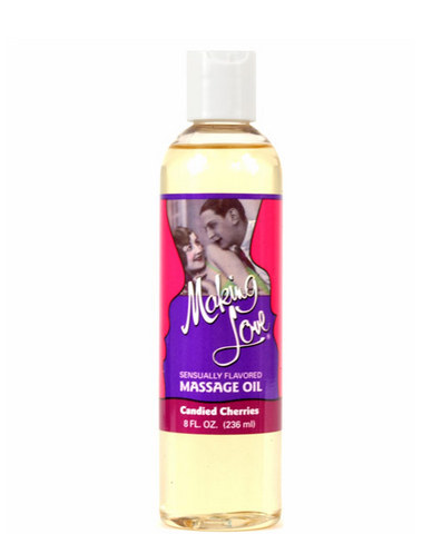 Making Love Massage Oil -Cherry