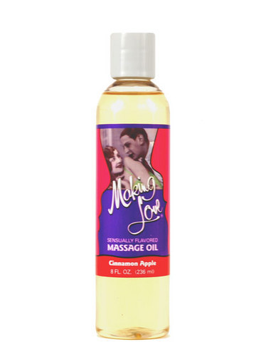 Making Love Massage Oil Cinnamon