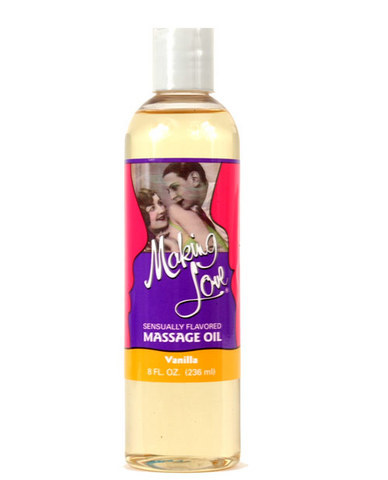 Making Love Massage Oil -Vanilla Sex Toy Product