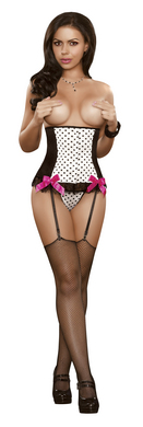 Vintage Dots Collection Corset