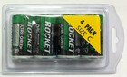 Pack of 4 Rocket Ultra Green C Batteries.