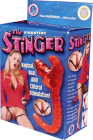 The Stinger Strap-On Vibrator - Red