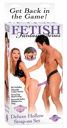 Purple Delight Hollow Dildo Strap-on