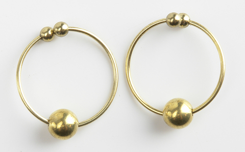 Fetish Fantasy Series Nipple Bull Rings Gold